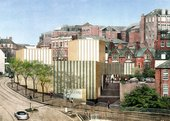 Caruso St John Artists impression of Nottingham Contemporary