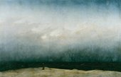 Caspar David Friedrich Monk by the Sea circa1809
