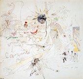 Charles Conder A Dream in Absinthe 1890