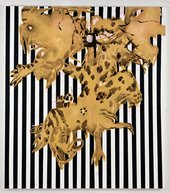 Charline von Heyl Black Stripe Mojo 2009