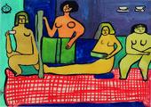 Saloua Raouda Choucair  les Peintres Celebres at Tate Modern