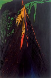 Chris Ofili Habio Green Locks 2009