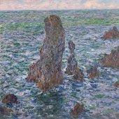 Claude Monet Les Pyramides de Port-Coton, effet de soleil