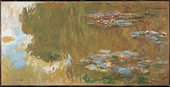 Claude Monet, The Water-Lily Pond (Le Bassin aux nymphéas) 1917-19