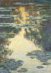Claude Monet, Water Lilies (Nymphéas) 1907