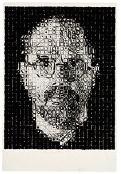 Chuck Close Self Portrait 1995