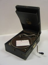 Cecil Collins's gramophone