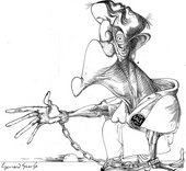 Gerald Scarfe cartoon Smith for Sale