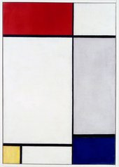 Piet Mondrian, Composition with Red, Yellow and Blue 1927