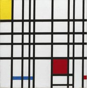 Piet Mondrian, Composition with Yellow, Blue and Red 1937 - 42