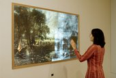 View of X-ray activity, Constable: The Great Landscapes exhibition