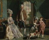John Singleton Copley - The Fountaine Family, 1776