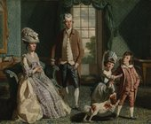 John Singleton Copley - The Fountaine Family, 1776