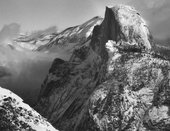 Ansel Adams Half Dome from Glacier Point in Winter c.1940