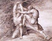Maria Cosway Unidentified Scene circa 1780s