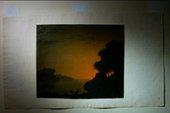 Alexander Cozens's Scirocco Sunset