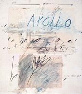 Cy Twombly Apollo and the Artist 1975