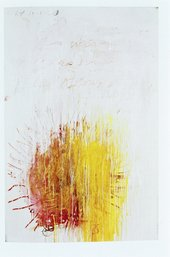 Cy Twombly Coronation of Sesostris 2000, panel 3