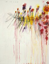 Cy Twombly Coronation of Sesostris 2000, panel 5