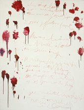Cy Twombly Coronation of Sesostris 2000, panel 6