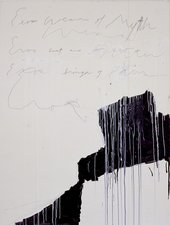 Cy Twombly Coronation of Sesostris 2000, panel 10