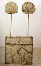 Cy Twombly Untitled (Funerary Box for a Lime Green Python) 2002