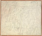 Cy Twombly The Geeks 1955