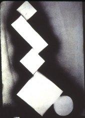 David Smith - 5 Δ Σ 3-16-63 1963 Spray enamel on paper