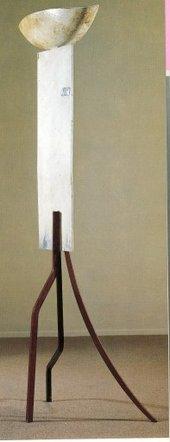 David Smith - Tanktotem IX 1960 Painted steel sculpture