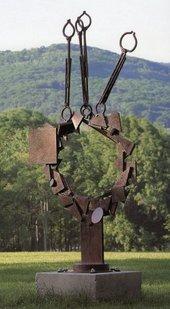 David Smith - Voltri-Bolton X 1962 Steel sculpture