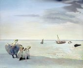 Fig.1 Salvador Dali, Forgotten Horizon, 1936.