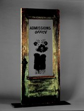 David Hammons The Door Admissions Office 1969