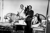 David and Albert Maysles with Big and Little Edie from Grey Gardens 1975
