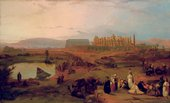 David Roberts Ruins of the Great Temple of Karnak 1845