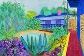 David Hockney, Garden, 2015, 2015