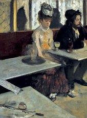 Edgar Degas L'Absinthe 1875-6 Oil on canvas