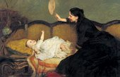 William Quiller Orchardson Master Baby 1886 Oil on canvas