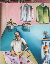 Image of Bhupen Khakhar's De-Lux Tailors 1972