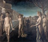 Paul Delvaux Dawn over the City 1940
