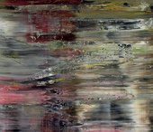 Detail of Gerhard Richter, Abstract Painting (726)