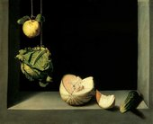 Juan Sanchez Cotan Quince Cabbage Melon and Cucumber circa 1602