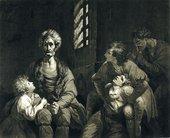 John British Dixon after Joshua Reynolds Ugolino 1773