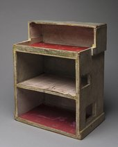 Doll house made by Ben Nicholson for his daughters (c.1940)
