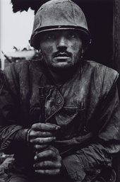 Don McCullin, Shell Shocked US Marine, The Battle of Hue 1968