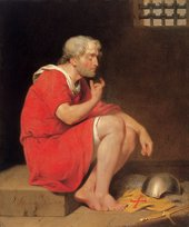 John Downman Robert, Duke of Normandy, in Prison 1779