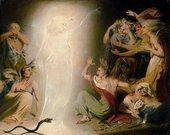 John Downman The Ghost of Clytemnestra Awakening the Furies 1781