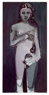 Marlene Dumas, Magdelena (Venus) 1995