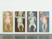 Marlene Dumas The First People (I-IV)  The First People (I-IV), 1990