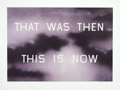 Ed Ruscha - That Was Then This Is Now