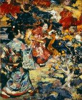 E. A. Hornel, A Japanese Garden 1894 Sheila MacNicol